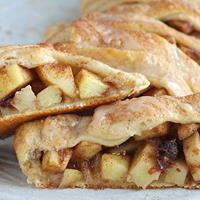 Apple & Cranberry Strudel