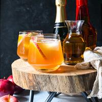 Bourbon Apple Cider Punch