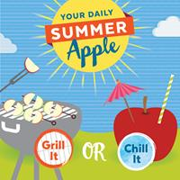 Your Daily Apple for Summer:  Grill It or Chill It!