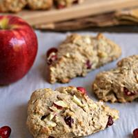 Apple and Cranberry Scones