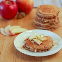 "This Month, Rachel From ""Rachel Cooks"" Is Cooking Apple Spice Quinoa Pancakes!"