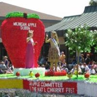 Michigan Apple Queen Attends the National Cherry Festival