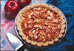 Apple-Almond Pie