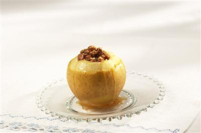 Baked Apples with Cinnamon Chip Streusel
