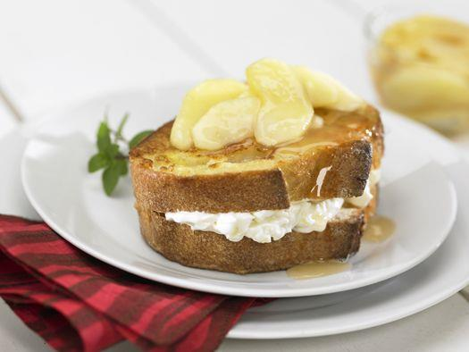 Baked Apple-Stuffed French Toast