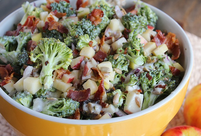 Honeycrisp Apple & Broccoli Salad