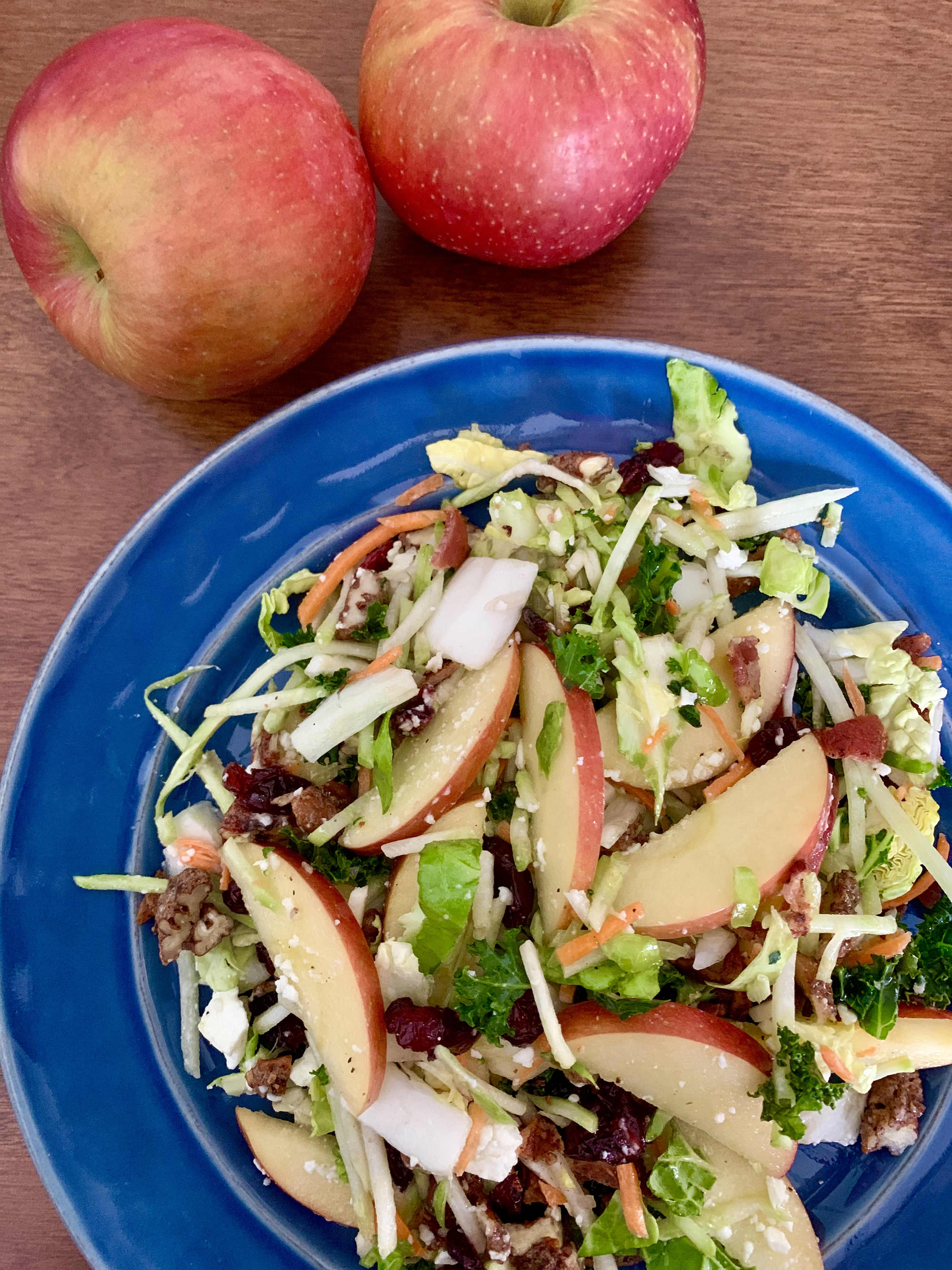 Super Foods Salad with EverCrisp® Apples, Feta and Pecans