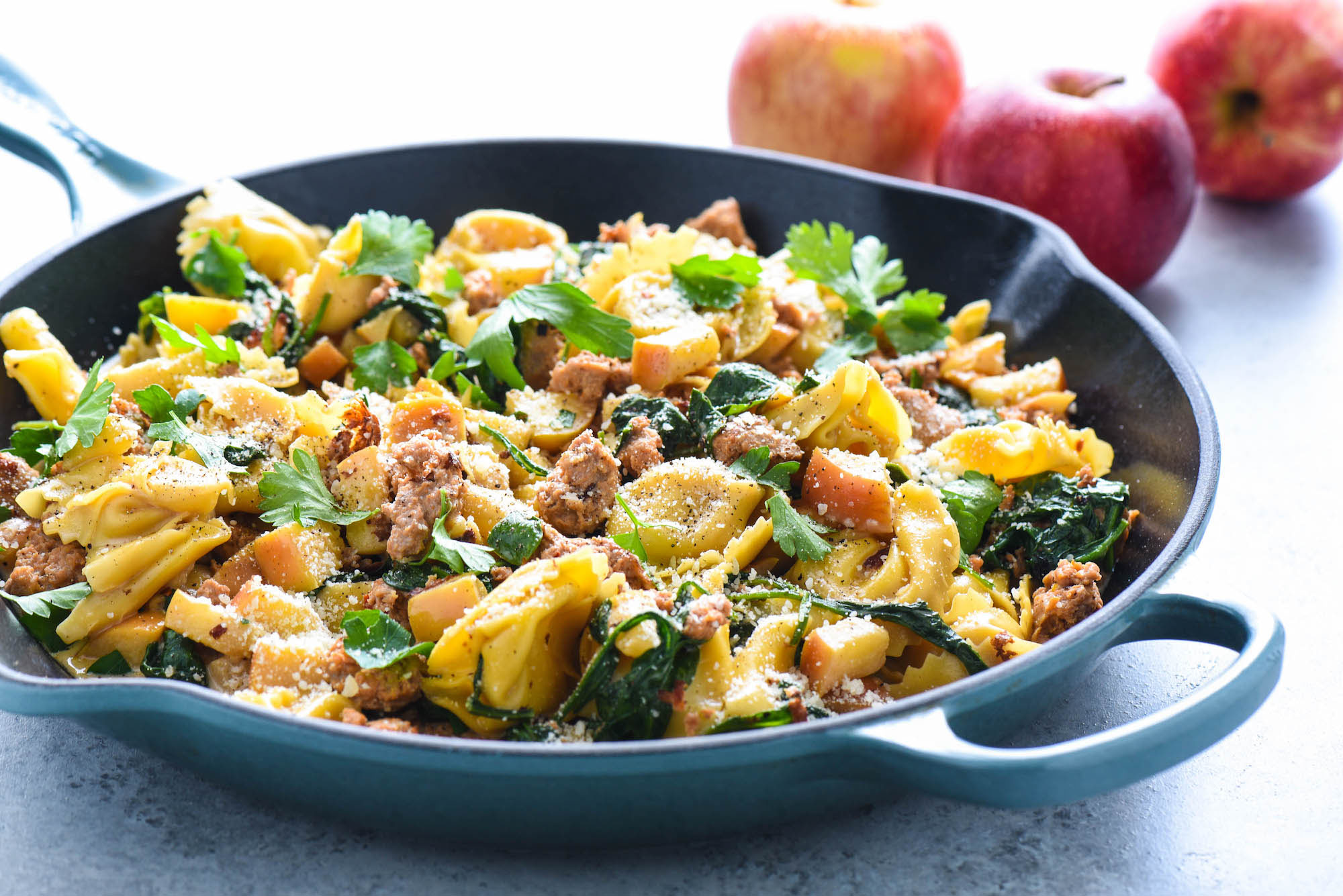 Sausage & Apple Tortellini
