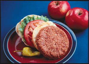 Apple-Pecan Burger
